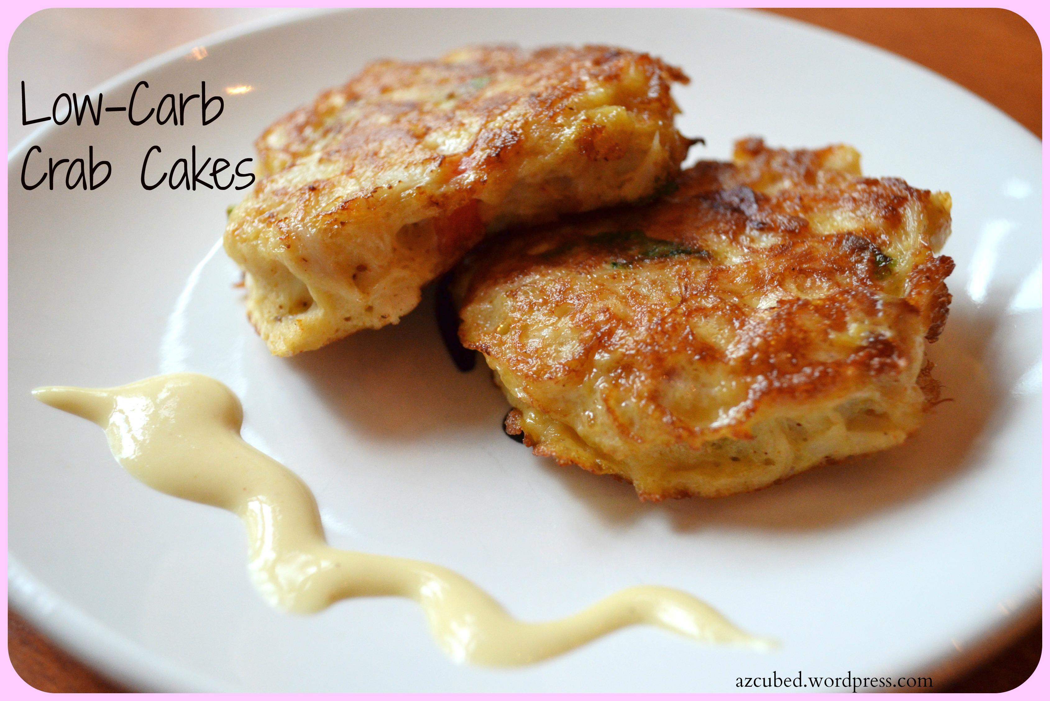 Crab Cake Recipe Low Calorie: Low Carb Crab Cakes With Mustard Sauce • Domestic Superhero