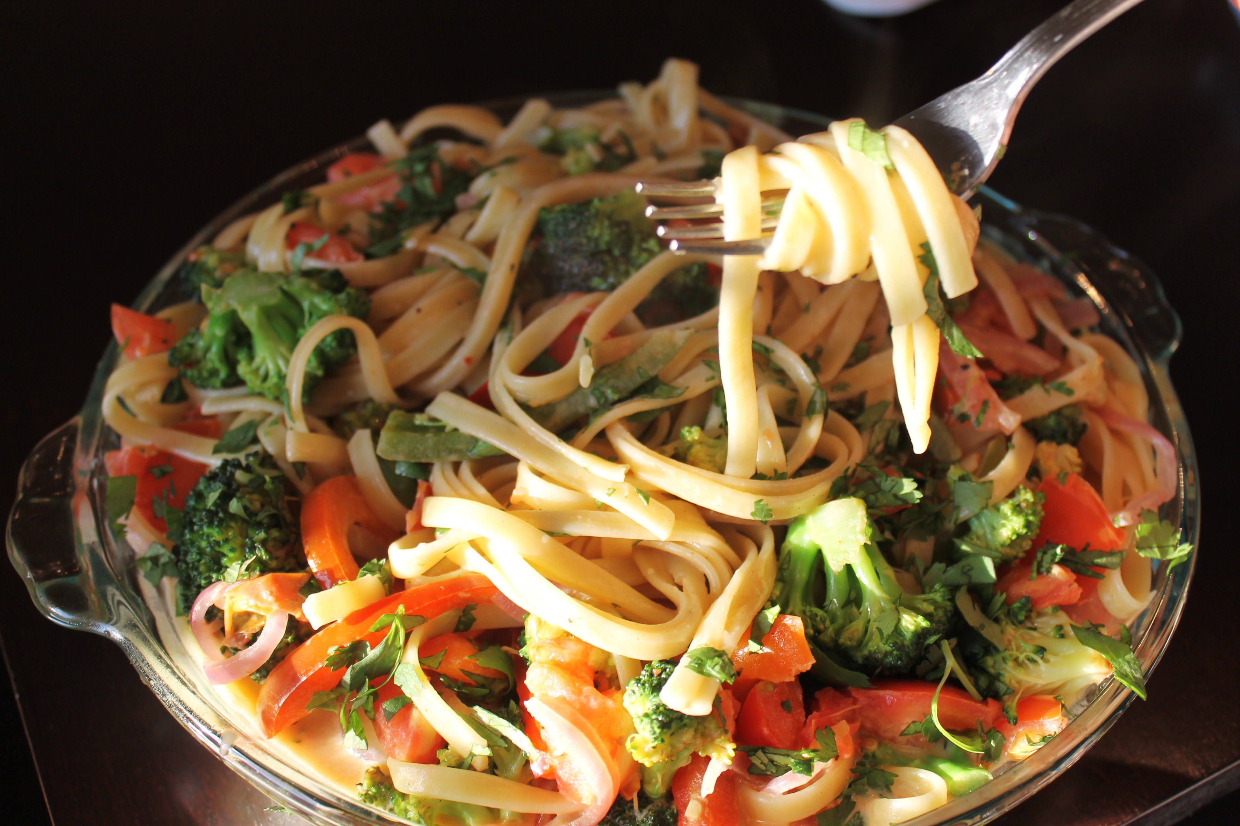 recipe: vegetarian linguine recipes [31]