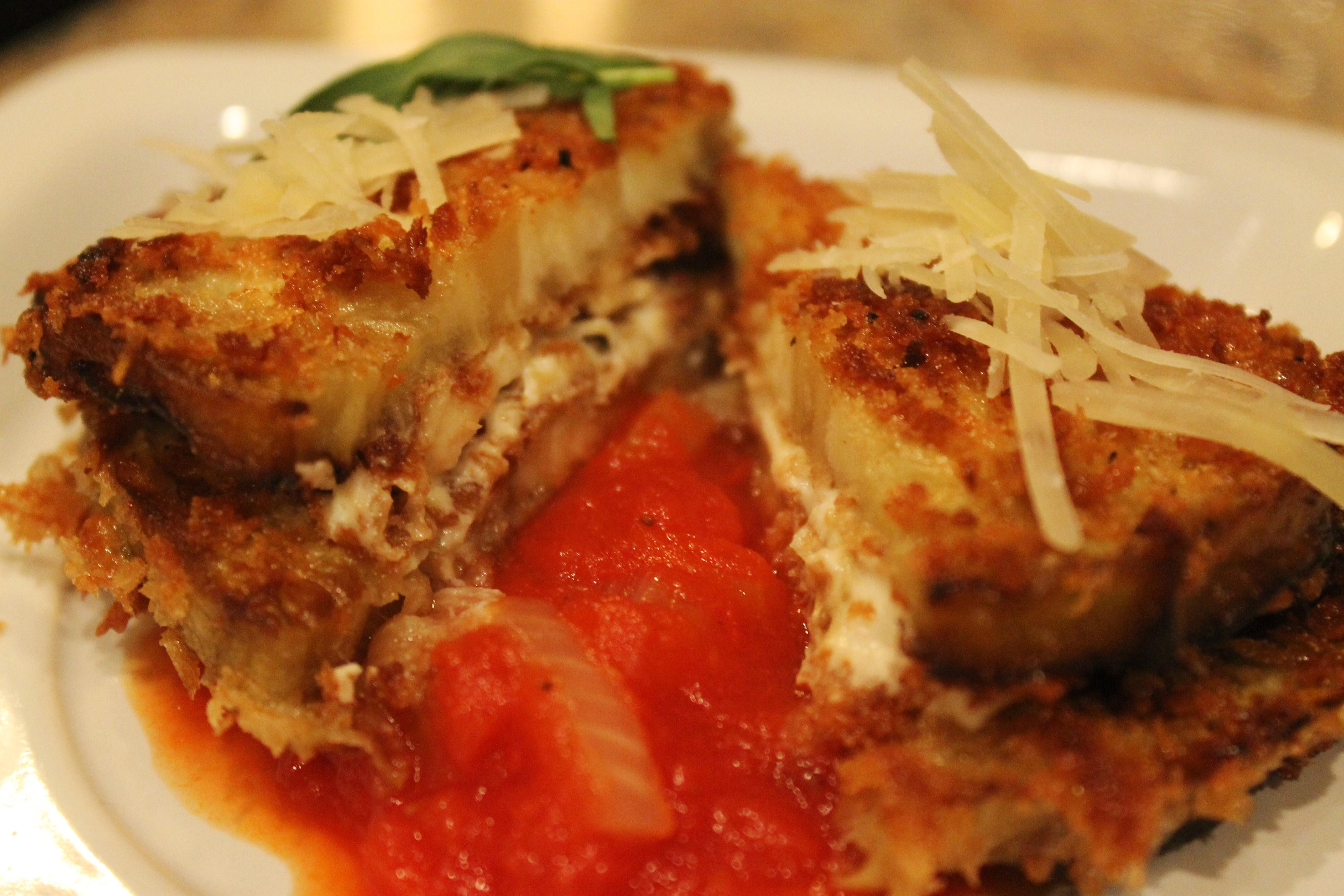 Eggplant & Goat Cheese Sandwiches with Tomato Tarragon ...