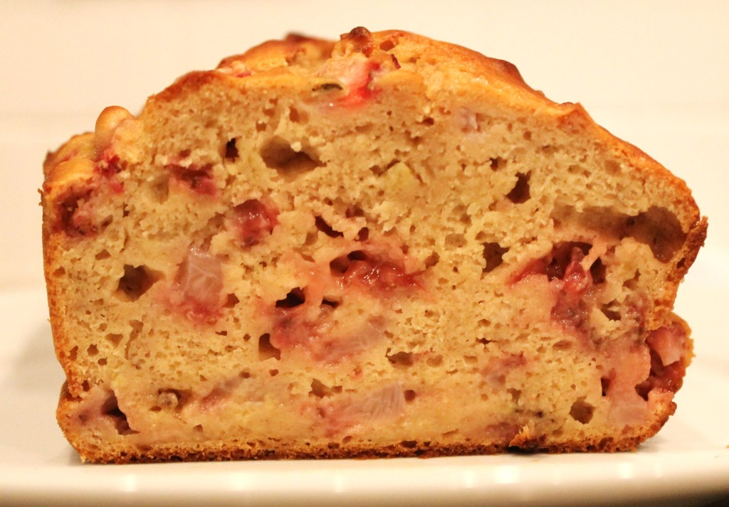 Greek Yogurt Strawberry Banana Bread....Healthy and Delicious!