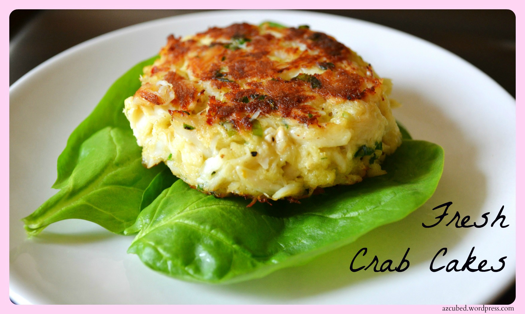 Fresh Crab Cakes Domestic Superhero