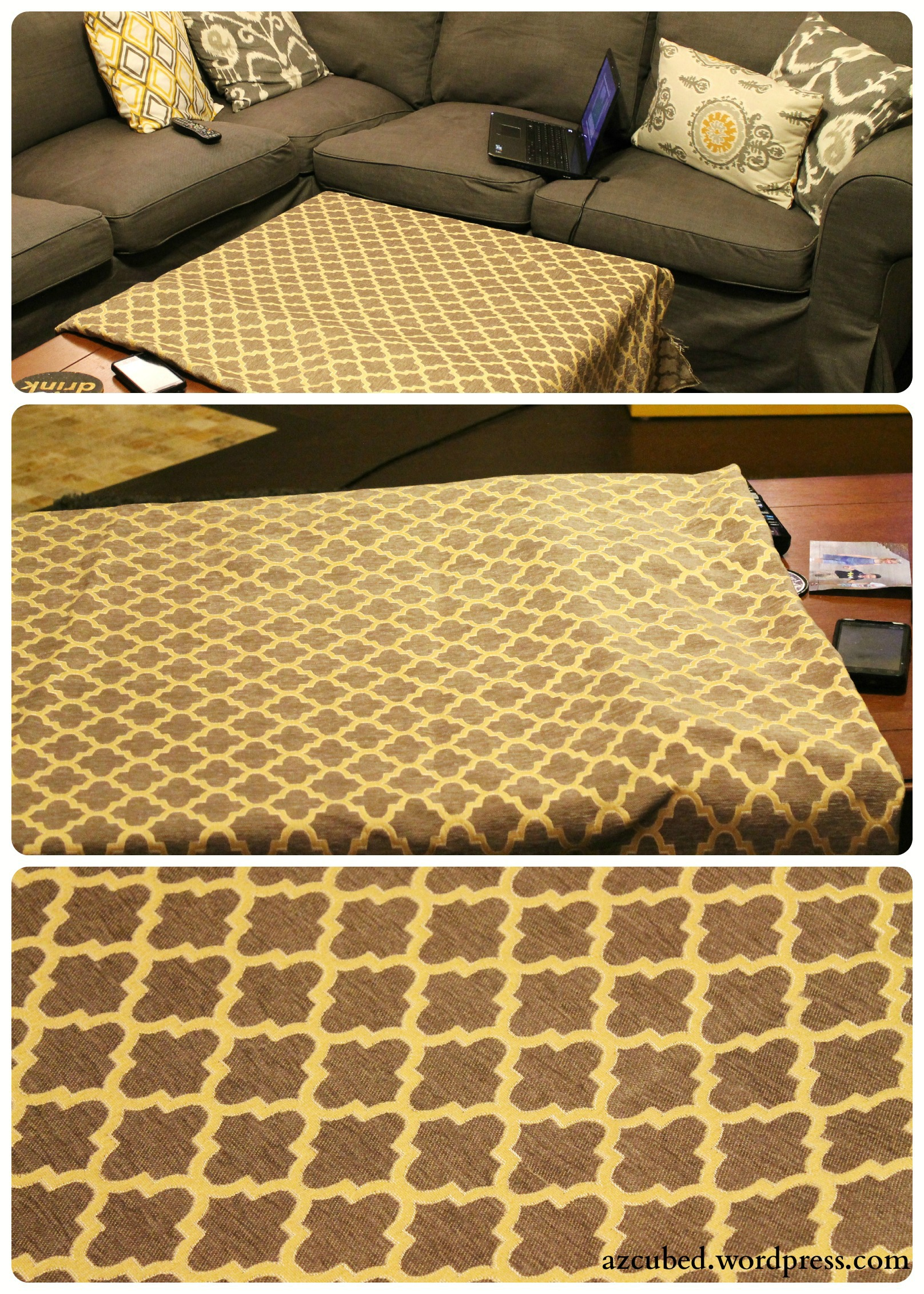 9fbd8ec675 DIY Tufted Ikat Ottoman from Upcycled Pallet with Tutorial ...