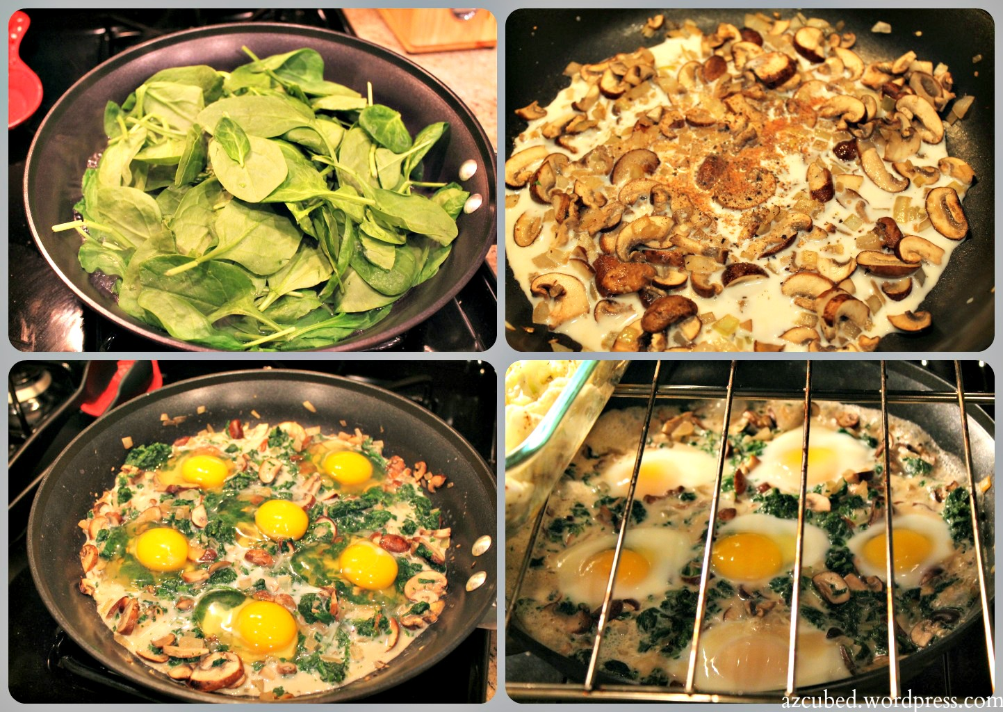 Make-Ahead Baked Eggs With Bacon, Mushrooms & Sage Recipe ...